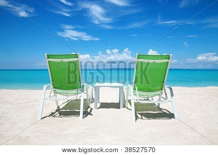Take A Break On Paradise Beach