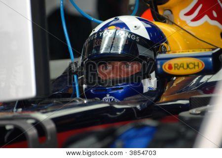 Red Bull Racing Rb3 David Coulthard British F1 Sepang Malaysia 2007