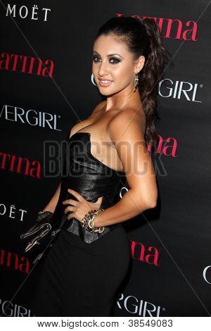 LOS ANGELES - OCT 4:  Francia Raisa arrives at the