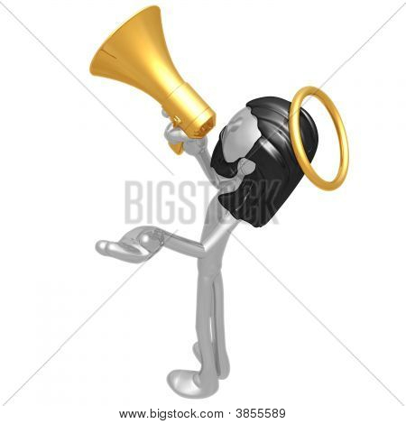 Jc With Megaphone