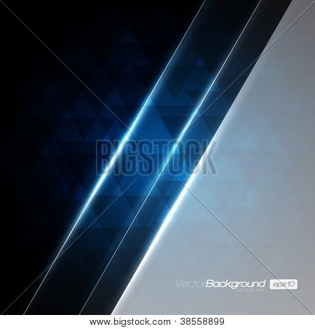 Abstract Modern Blue vector background for Your Text | EPS10 Design