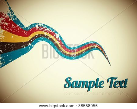 Abstract Retro Vector Background | EPS10 Design