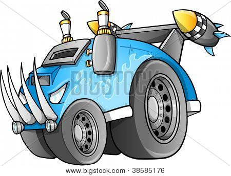 Apocalyptic Vehicle Vector