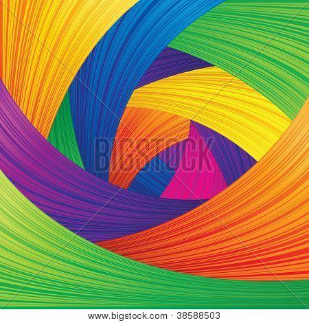 Fondo de Vector abstracto multicolor