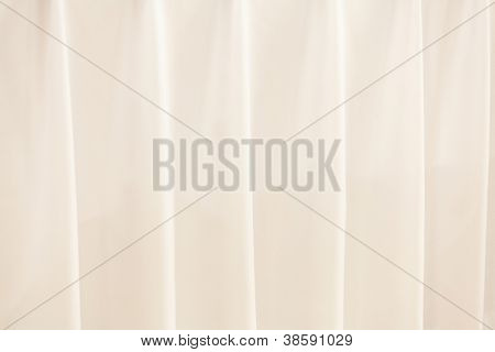 Background with a draped tablecloth