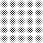 Seamless Black & White Dots