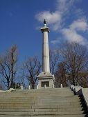Wisconsin Monument In Vicksburg poster