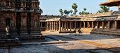 stock photo of great living chola temples  - Panorama of Airavatesvara Temple - JPG