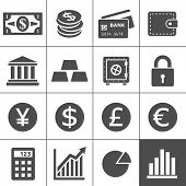 stock photo of debit card  - Finance Icons - JPG