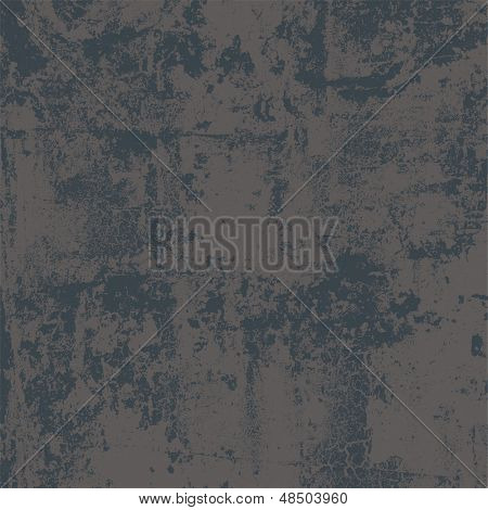 Abstract vector grunge background in two colors, no transparency