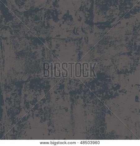 Abstract Vector Grunge hintergrund in zwei Farben, keine Transparenz