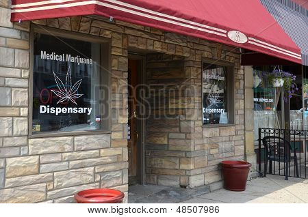 Medical Marijuana Dispensary, Ypsilanti, Mi