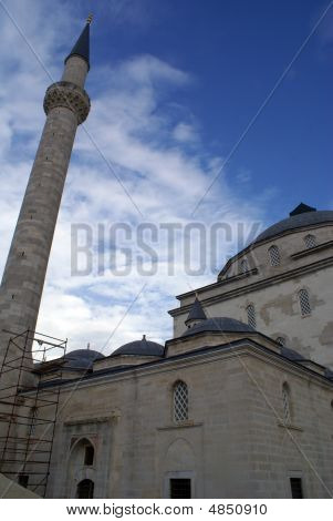 Mosque And Minaret