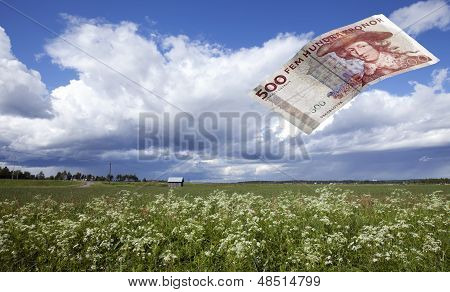 An agricultural subsidy.