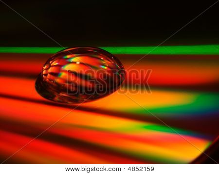 Droplet On Cd