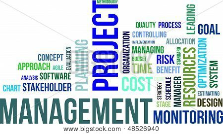 Word cloud - projectmanagement