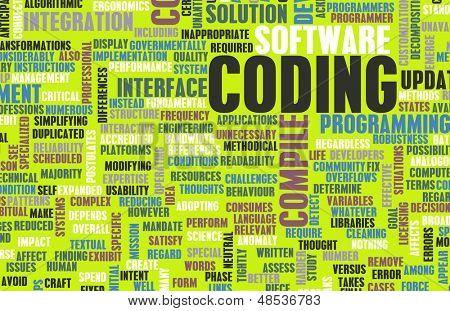 Codificação ou programação no desenvolvimento de Software