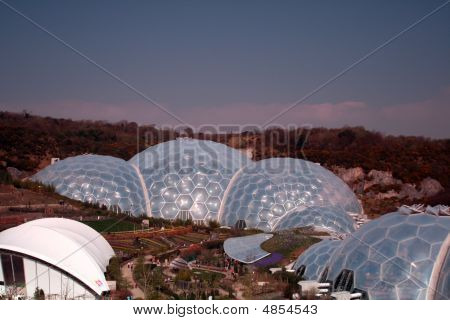 The Eden Project - Main Biome