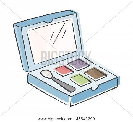 Sketchy Makeup Palette