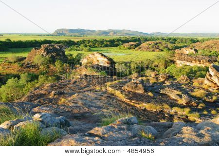 Ubirr Art Site And Lookout. Kakadu National Park. Northern Territory Australia