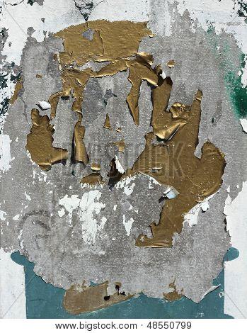 Pintura descascando em Metal galvanizado