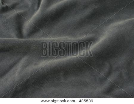 Gray Velvet Fabric