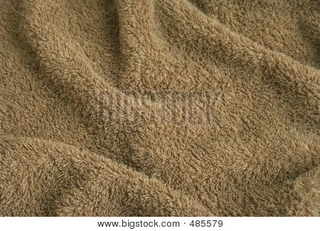 Brown Towel Terry Cloth