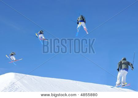 Ski Jump Sequence