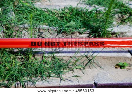 Do Not Trespass