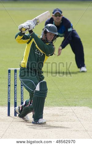 May 03 2009; Southampton Hampshire, M Boyce   competing in Friends Provident trophy 1 day cricket match between Hampshire and Leicestershire played at the Rose Bowl.
