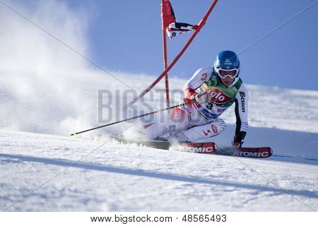SOELDEN AUSTRIA OCT 26, Benni Raich AUT  competing in the mens giant slalom race at the Rettenbach Glacier Soelden Austria, the opening race of the 2008/09 Audi FIS Alpine Ski World Cup