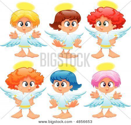 Familie von Engeln