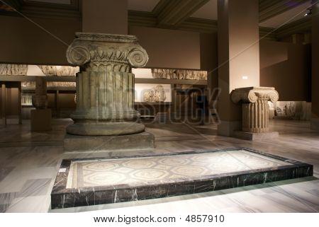 Columns And Mosaic