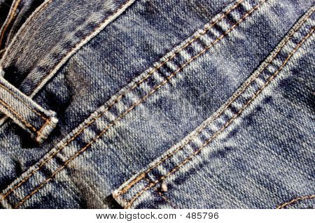 Blue Jean Close-up