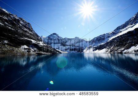 Lake Mcarthur,canadian Rockies,canada