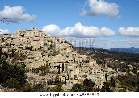 Gordes In Luberon,.southern France