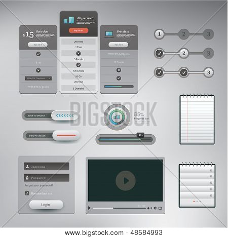 UI set