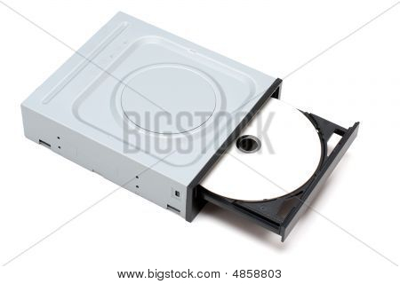 Dvd Drive With Disk