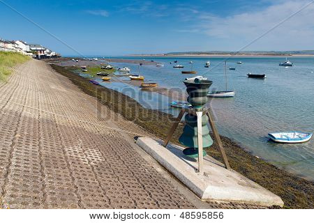 Appledore Devon England boats and blue sky