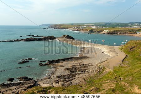 North Cornwall coastline at Bude