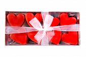 Box Full Of Red Hearts