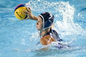 Jul 29 2009; Rome Italy; USA team player Kelly Rulon competing in the womens waterpolo semi final ma
