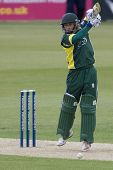 May 03 2009; Southampton Hampshire, J Taylor   competing in Friends Provident trophy 1 day cricket m