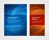 picture of booklet design  - Brochure business design template or banner - JPG