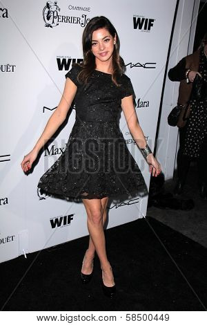 Gia Mantegna at the Sixth Annual Women In Film Pre-Oscar Coctail Party, Fig & Olive, Los Angeles, CA 02-22-12