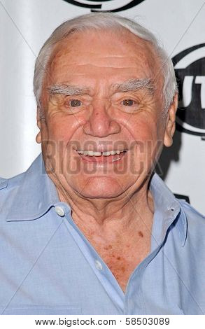 HOLLYWOOD - JULY 10: Ernest Borgnine at the Premiere of