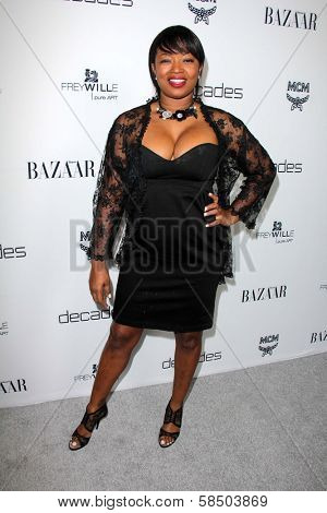 Manouschka Guerrier at Harper's Bazaar Celebrates The Launch Of The Dukes of Melrose, Sunset Tower, West Hollywood, CA 02-28-13