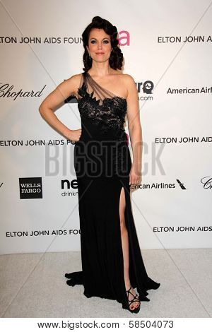 Bellamy Young at the Elton John Aids Foundation 21st Academy Awards Viewing Party, West Hollywood Park, West Hollywood, CA 02-24-13