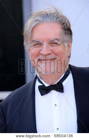 Matt Groening at the 85th Annual Academy Awards Arrivals, Dolby Theater, Hollywood, CA 02-24-13