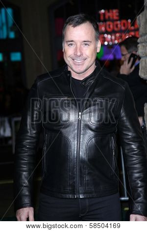 David Furnish at the